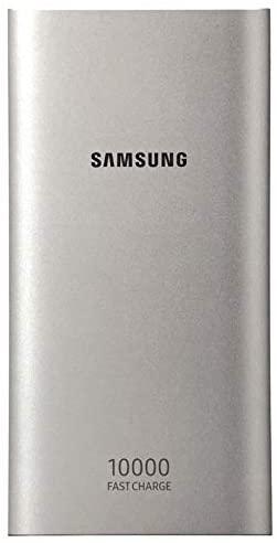 Carregador Portátil Power Bank Samsung 10000mAh Fast Charge 2 Saidas USB TIPO C - Prata