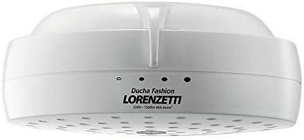 Ducha Fashion 127V 5500W, Lorenzetti, 7531204, Branco, Pequeno