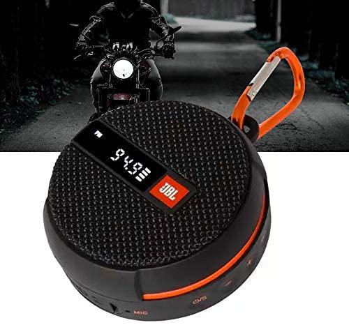 Caixa de Som JBL Wind 2 Suporte para Motos e Bicicletas Bluetooth À Prova D'água - JBLWIND2BLK