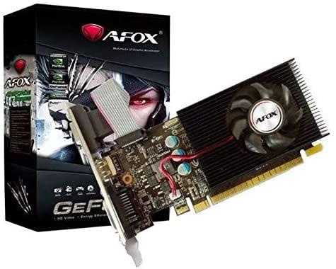 Placa De Vídeo AFOX NVIDIA GeForce GT610 2GB DDR3 64bits - AF6102048D3L5