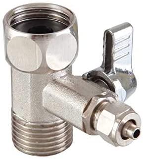 Adaptador Filtro para Purificadores de Água Mangueira 1/4 - Bucha T Metal (BTM12-REG14 BB)