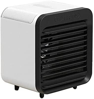 sakalaexp Ar Condicionado Portátil Resfriador de Ar Pessoal Recarregável Mini Ventilador Silencioso para Escritório em Casa