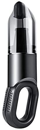 Sunbaca Aspirador de pó portátil sem fio portátil para carro com acessórios Modos duplos Aspirador de mão ultraleve de 6 Kpa para cozinha de escritório e carro doméstico