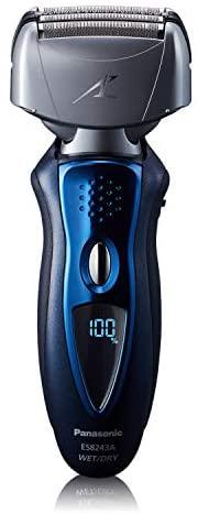 Panasonic Barbeador elétrico Arc4 para homens com aparador de barba pop-up, sistema de corte de lâmina de 4 lâminas, cabeça articulada flexível, hipoalergênico, barbeador elétrico úmido/seco – ES8243AA