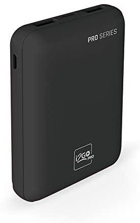 Bateria Portátil 10.000Mah, I2Go, Tecnologias de Carregamento Rápido, I2Gbat009, Preto