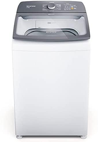 Máquina de Lavar Brastemp 12Kg branca com Ciclo Tira Manchas Advanced e Ciclo Antibolinha - BWK12AB 110V