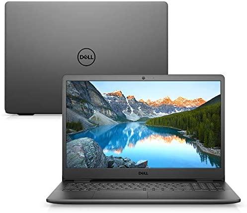 "Notebook Dell Inspiron i15-3501-A10P 15.6"" HD 11ª Geração Intel Pentium Gold 4GB 128GB SSD Windows 10 Preto"