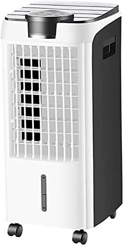 ZHJBD Refrigerador de ar pessoal, refrigerador evaporativo portátil, refrigerador móvel portátil, ventilador de ar condicionado interno, controle remoto, branco, ar-condicionado/20