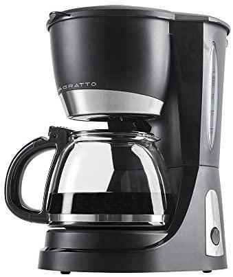 CAFETEIRA ELETRICA AGRATTO VETRO CAFFE 30X CEV30-01 127V, Agratto, 6049, Preto