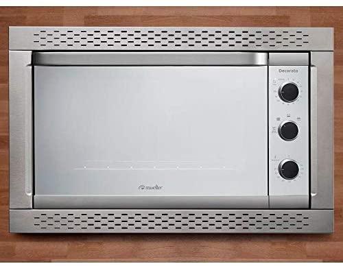 Forno Elétrico de Embutir 44L Decorato Mueller 220V Inox