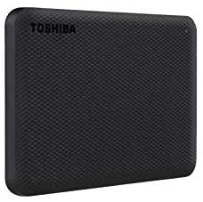 HD Externo Toshiba 2TB Canvio Advance PRETO