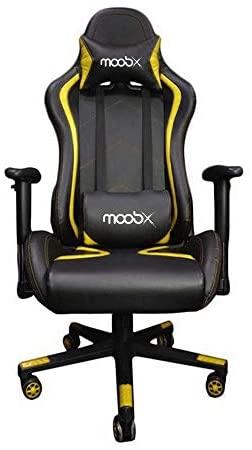 Cadeira Escritório Gamer Moobx Thunder Braços Com Regulagem de Altura