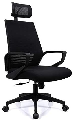 Cadeira Escritório Presidente Preta Quito Conforsit 5003