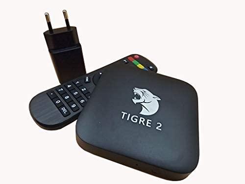 GD A1 A2 Tigre TV Box controle Completo e original