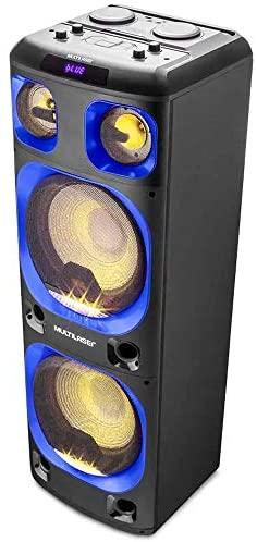 Mini Torre Multilaser 12Pol. Bluetooth 2000W - SP343