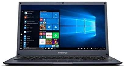 Notebook Positivo Motion Plus Q464B Intel® Atom® Quad-Core™ Windows 10 Home 14